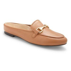 Vionic Snug Adeline Leather Comfort Mule Slide 9